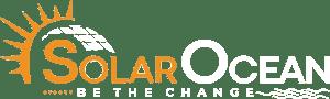 Solar Ocean White Logo